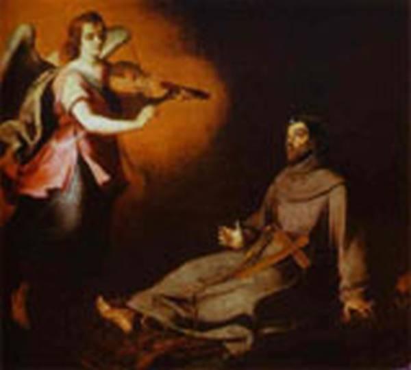 vision to st francis 1645 1646 XX san fernando academy madrid spain